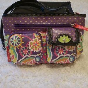 Lily Bloom Eco-shine Shoulder Handbag